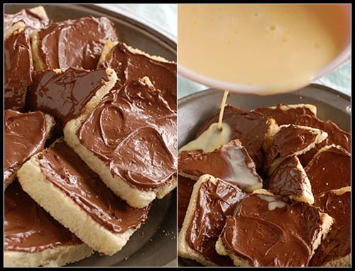 Nutella + Custard