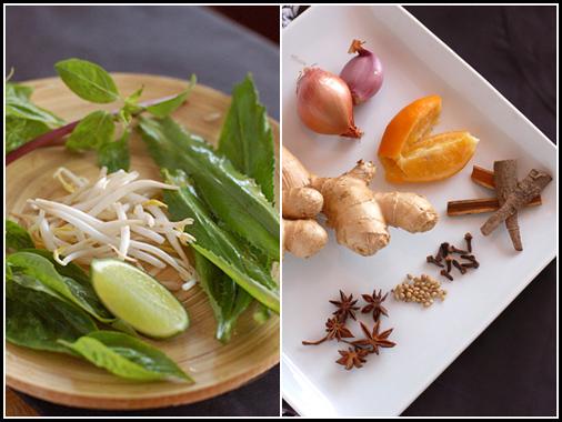 Pho Ga Ingredients