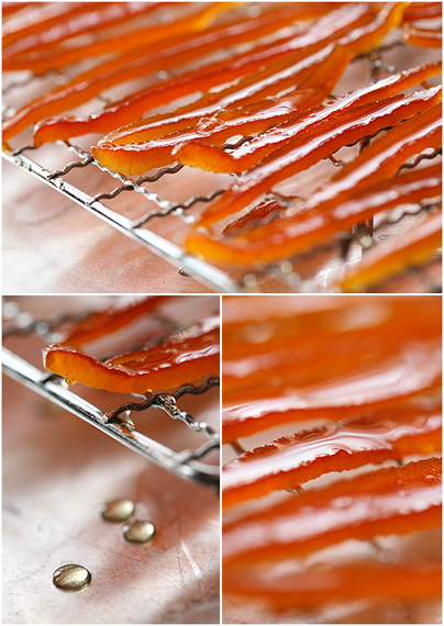 Candied Tangelos